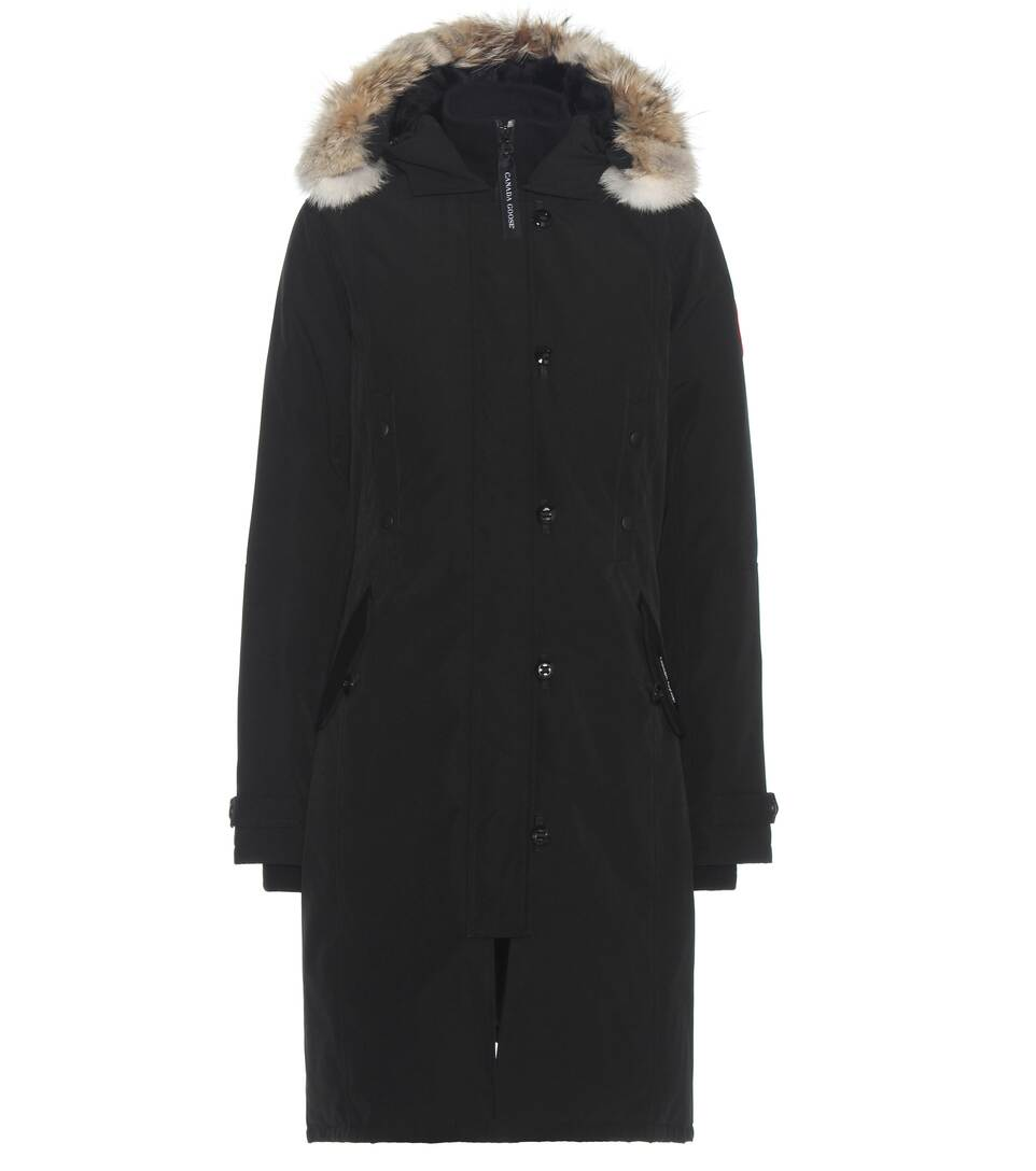 Kensington Hood Coat With Trimmed mytheresa Canada Fur Goose Down arSnqa