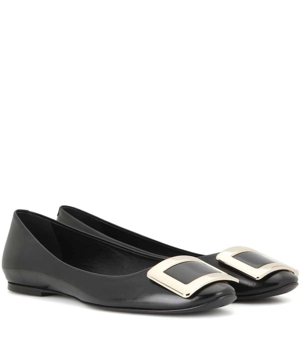 Roger Vivier Ballerinas Gommette Of Leather