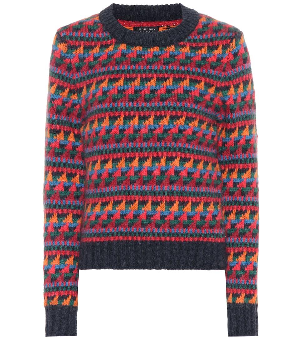 Burberry Pullover mit Woll- und Mohairanteil Rabatt Limitierte Auflage Auslass Manchester Großer Verkauf Spielraum Bestseller Besuch Eze4Oh