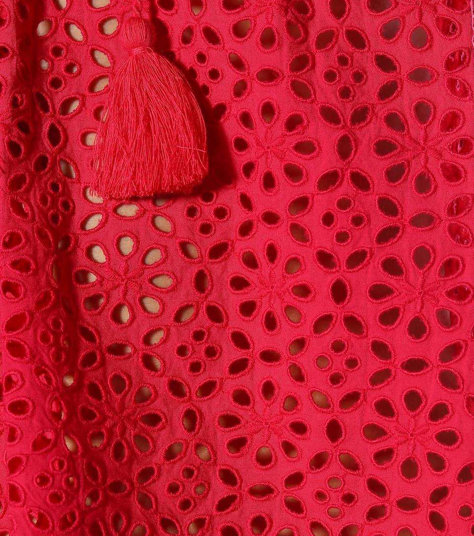 7cbd279f99d36f Dolly Eyelet Cotton Top - Ulla Johnson