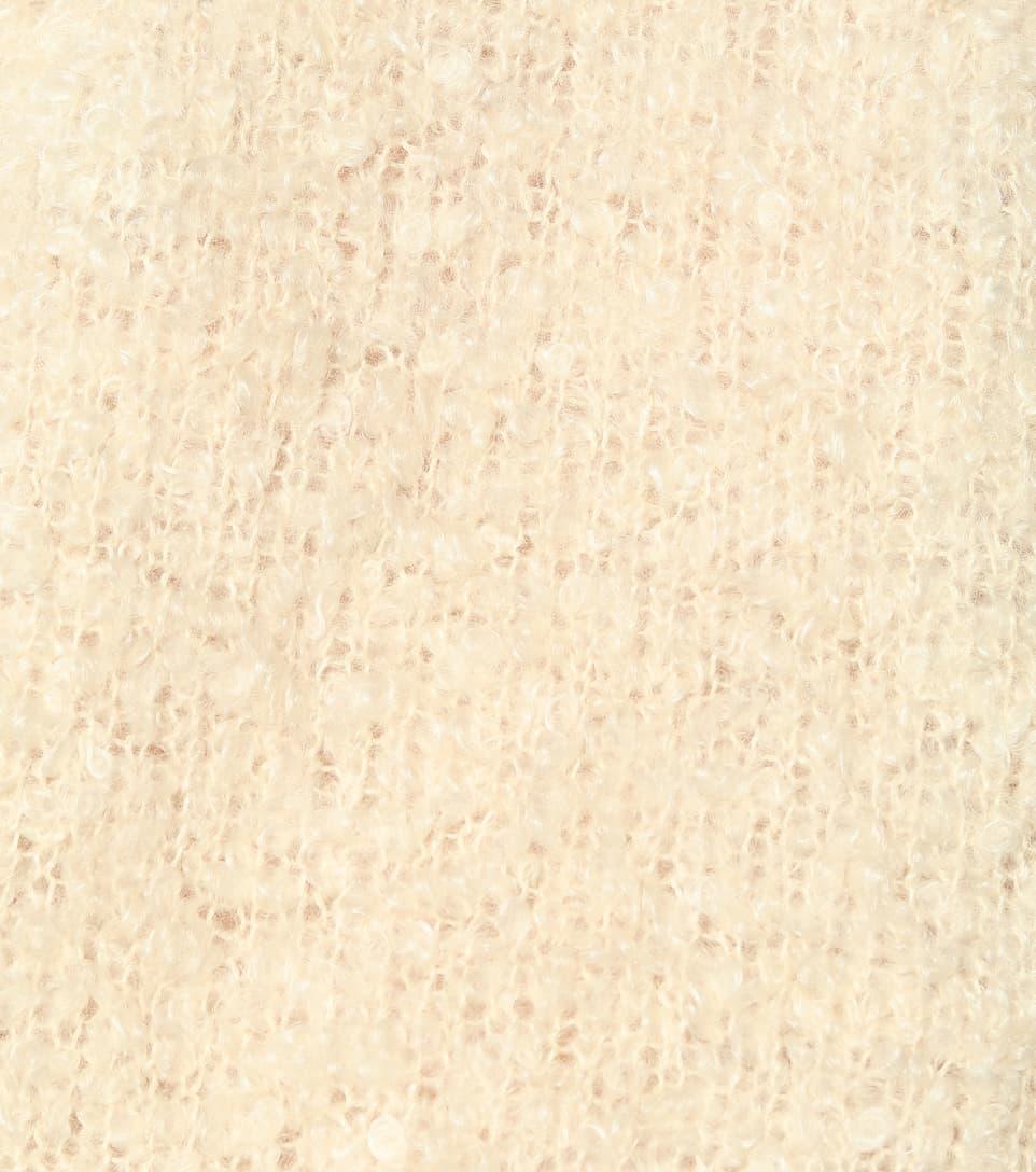 모헤어 캐시미어 실크 스웨터 - Prada