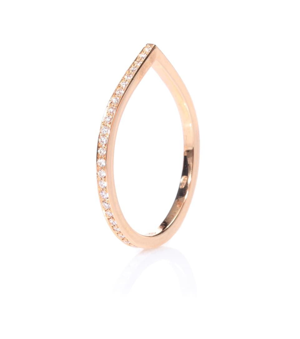 Bague En Or Rose 18 Ct Et Diamants Antifer - Repossi La Sortie Fiable Autorisation De Sortie Pas Cher Faire Acheter Mode Pas Cher En Ligne gx5wjh