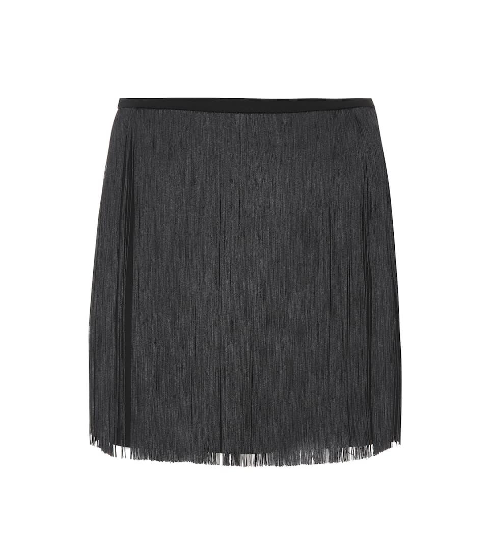 42c8679b1fb Fringed Mini Skirt - Saint Laurent | mytheresa