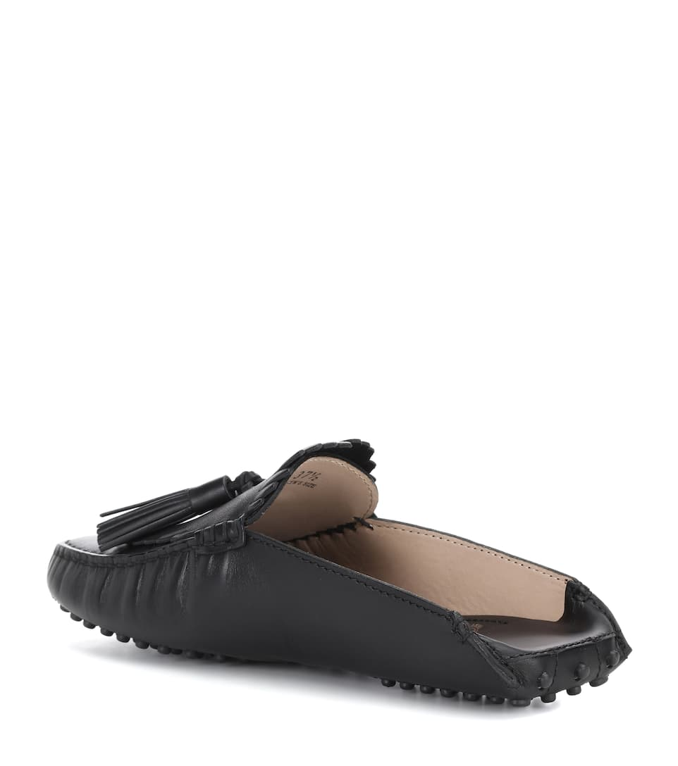 Tods Loafers Gommino Circle Of Leather