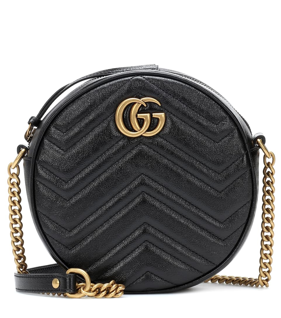 f983fc055fbb Gg Marmont Mini Leather Shoulder Bag - Gucci