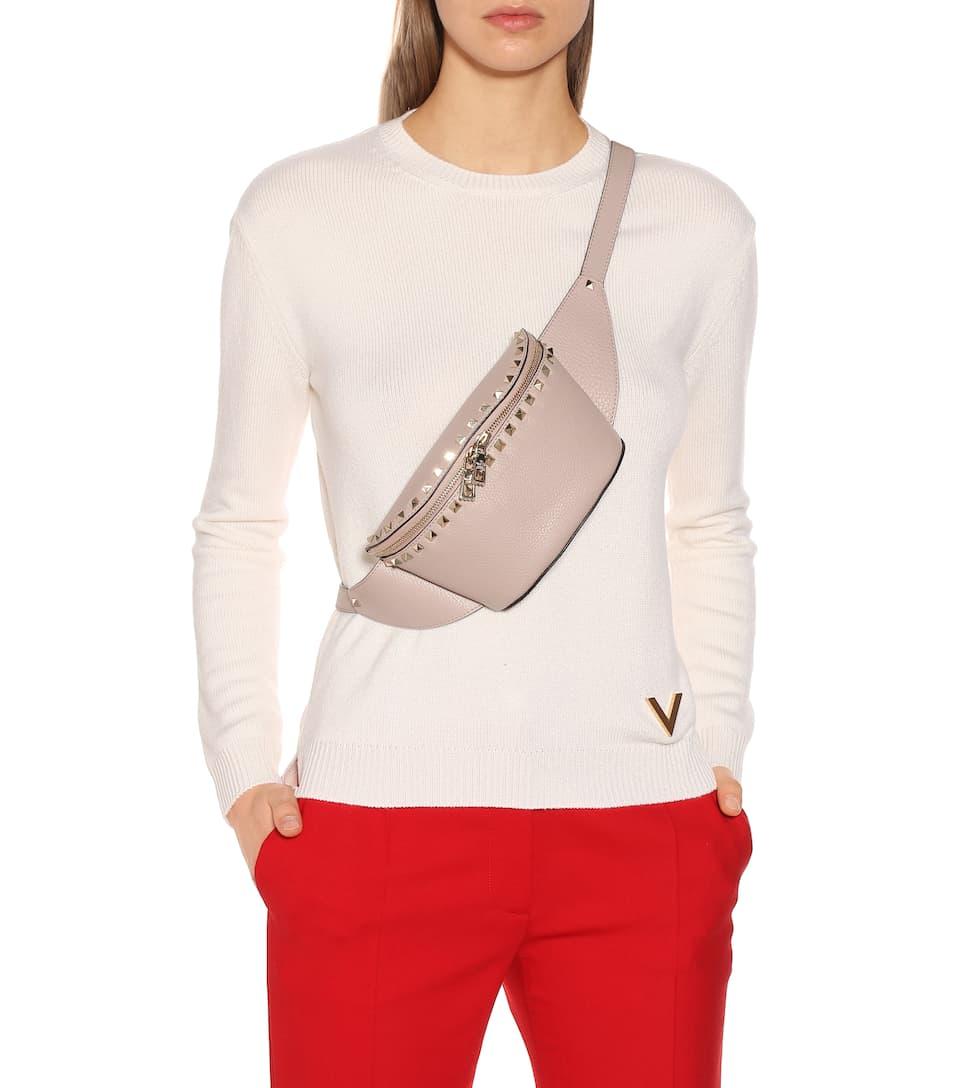 b054d46d5 Valentino Garavani – Sac ceinture Rockstud en cuir | Mytheresa