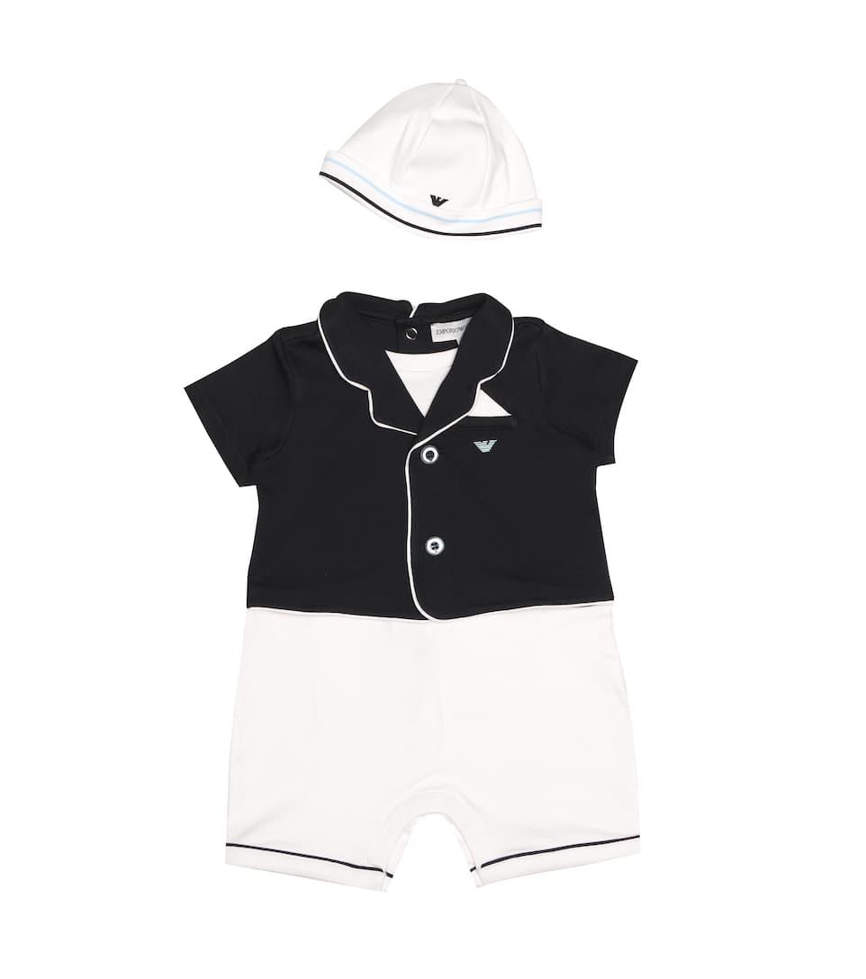 d33785d6b Emporio Armani Kids - Bebé – set de body y gorro