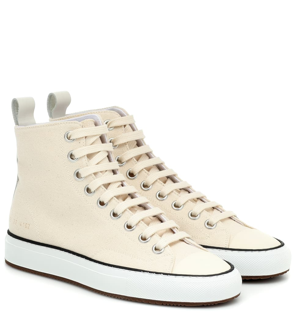 Tournament High Canvas Sneakers