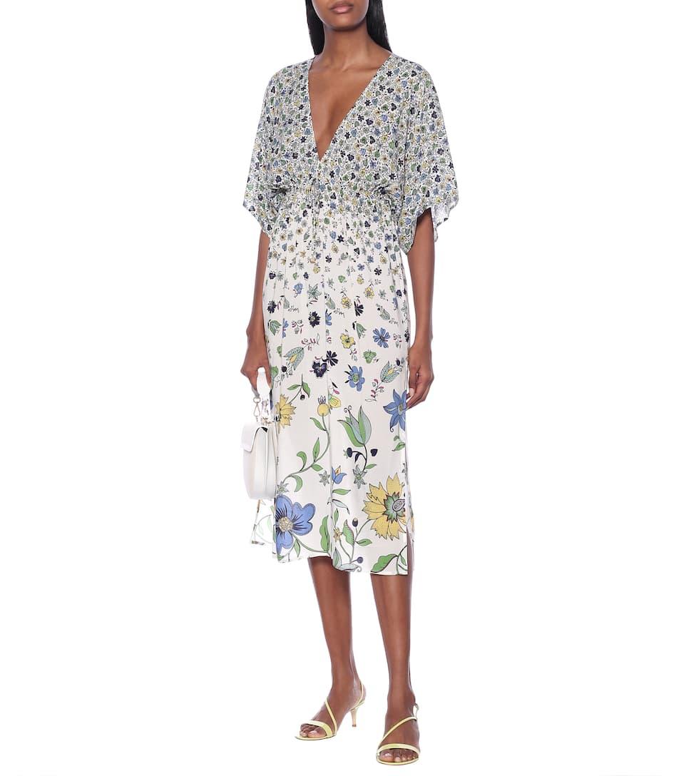 Tory Burch - Floral midi dress