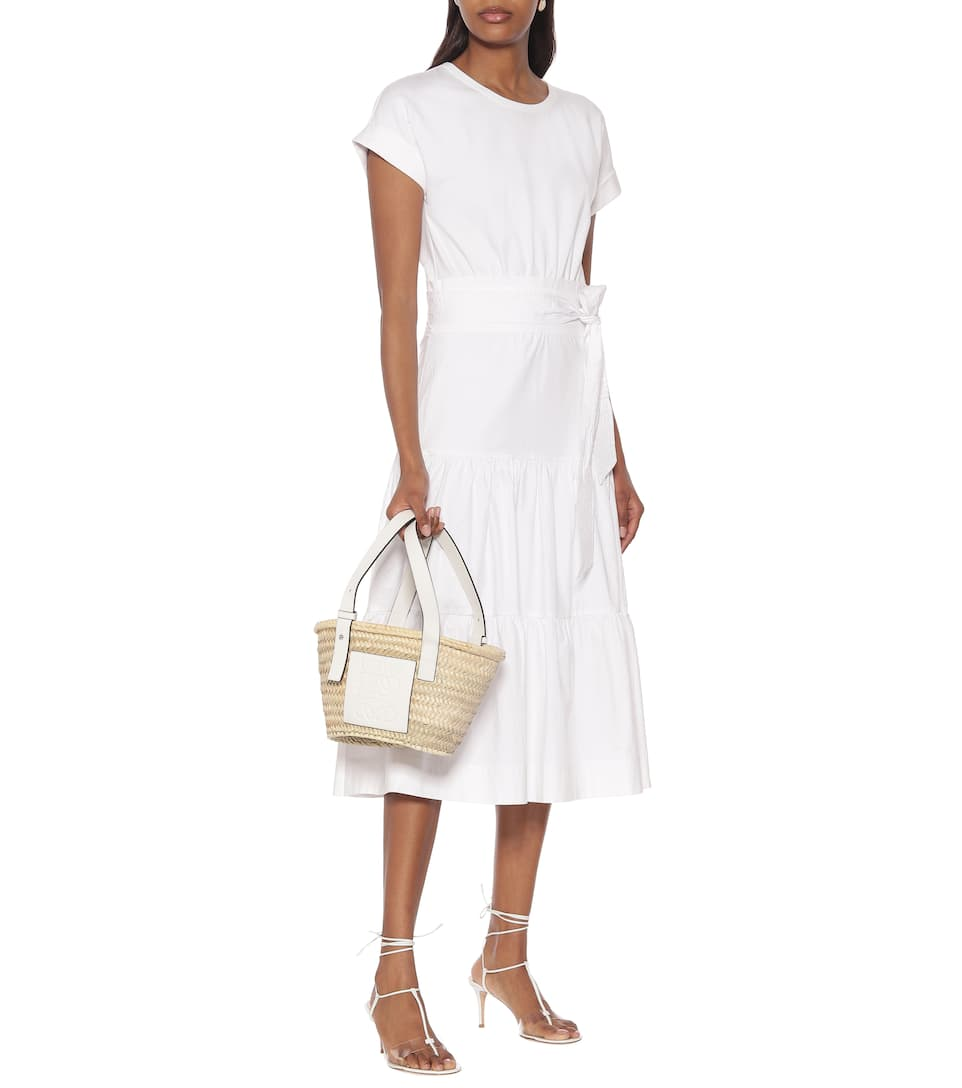 Veronica Beard - Trail stretch-cotton midi dress