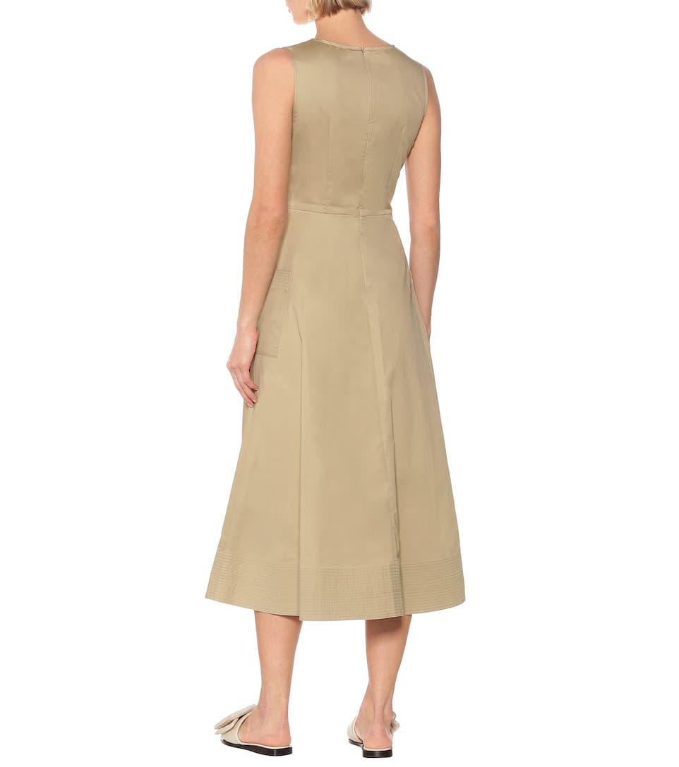 Essentials Cotton Midi Dress   Co - Mytheresa
