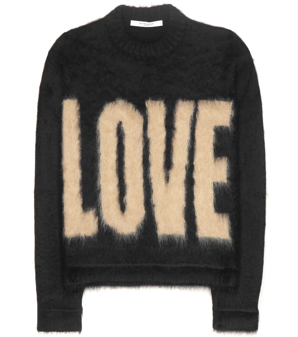 Givenchy Knitted mohair and wool-blend sweater