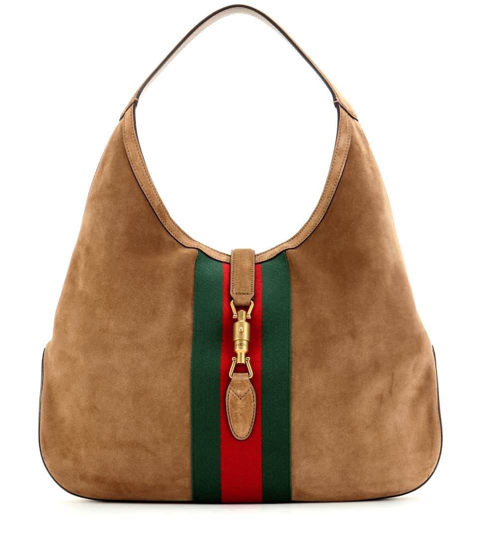 Gucci Tasche Jackie aus Veloursleder