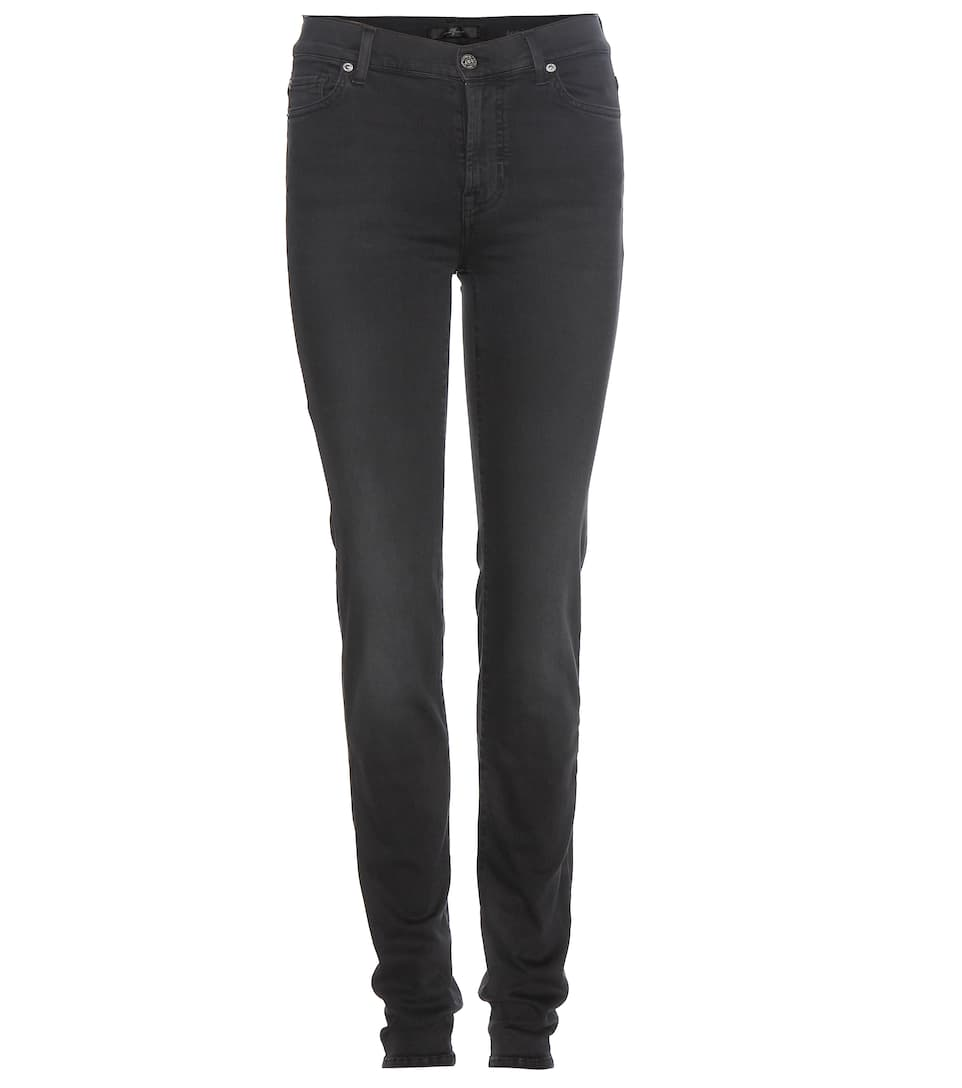 7 For All Mankind - Rozie slim high-rise jeans  95213b1f2
