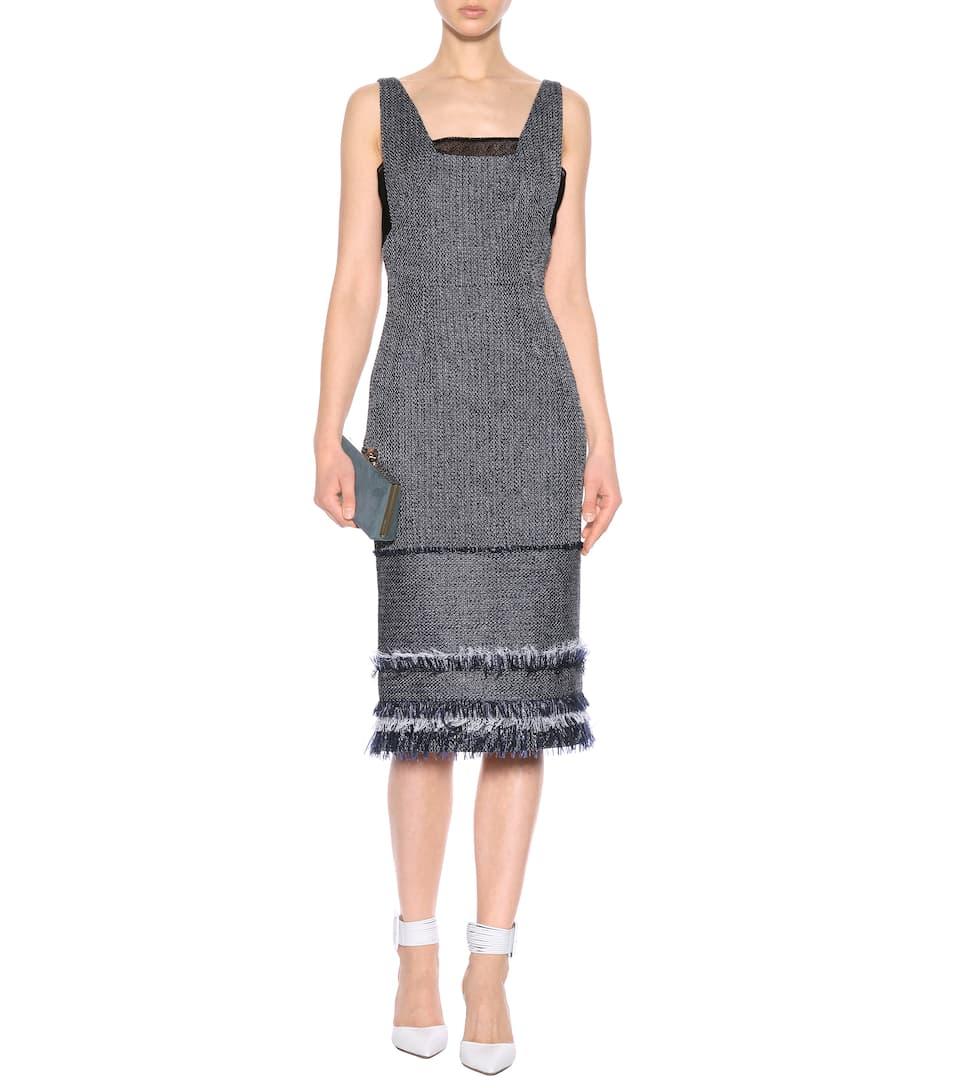 Roland Mouret Tweed-Kleid Riseley