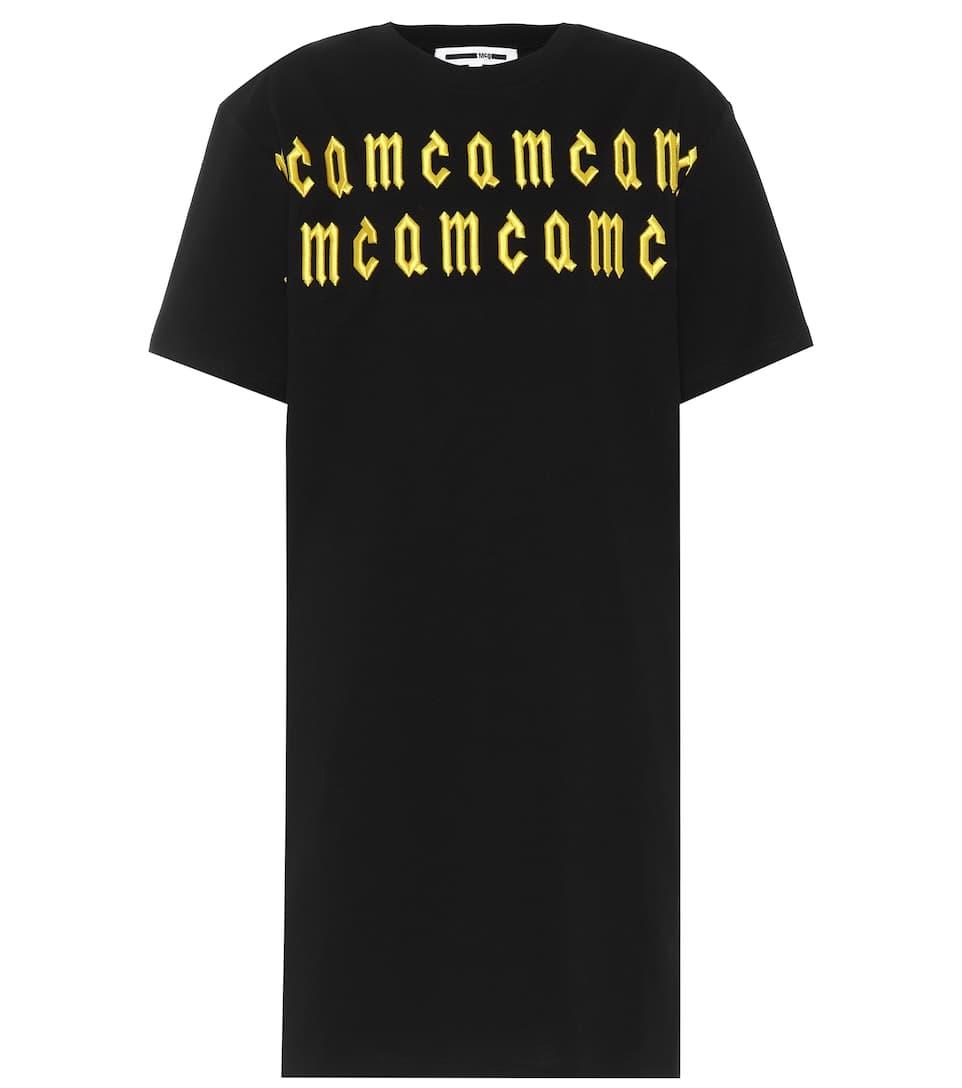 McQ Alexander McQueen Besticktes T-Shirt aus Baumwolle