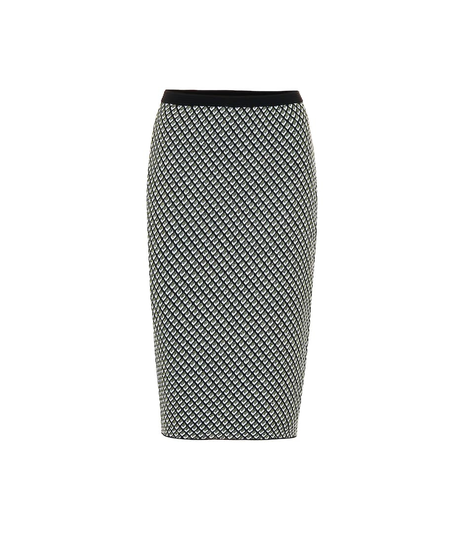Mapel Wool Blend Pencil Skirt by Diane Von Furstenberg