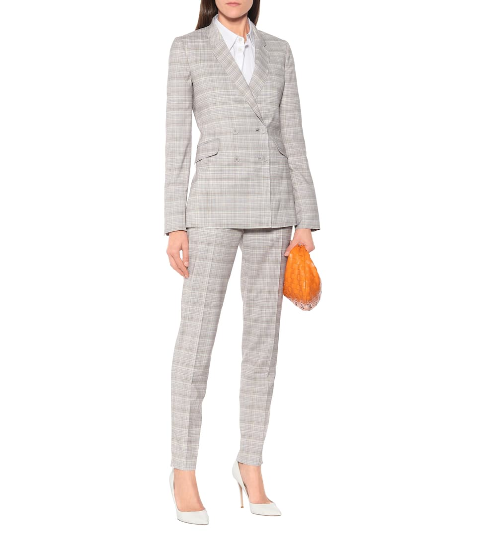 Gabriela Hearst - Helena checked stretch-wool blazer