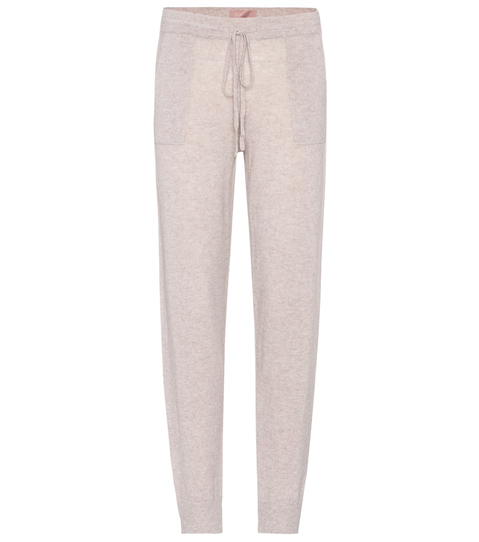 HIVE WOOL AND CASHMERE TRACK PANTS