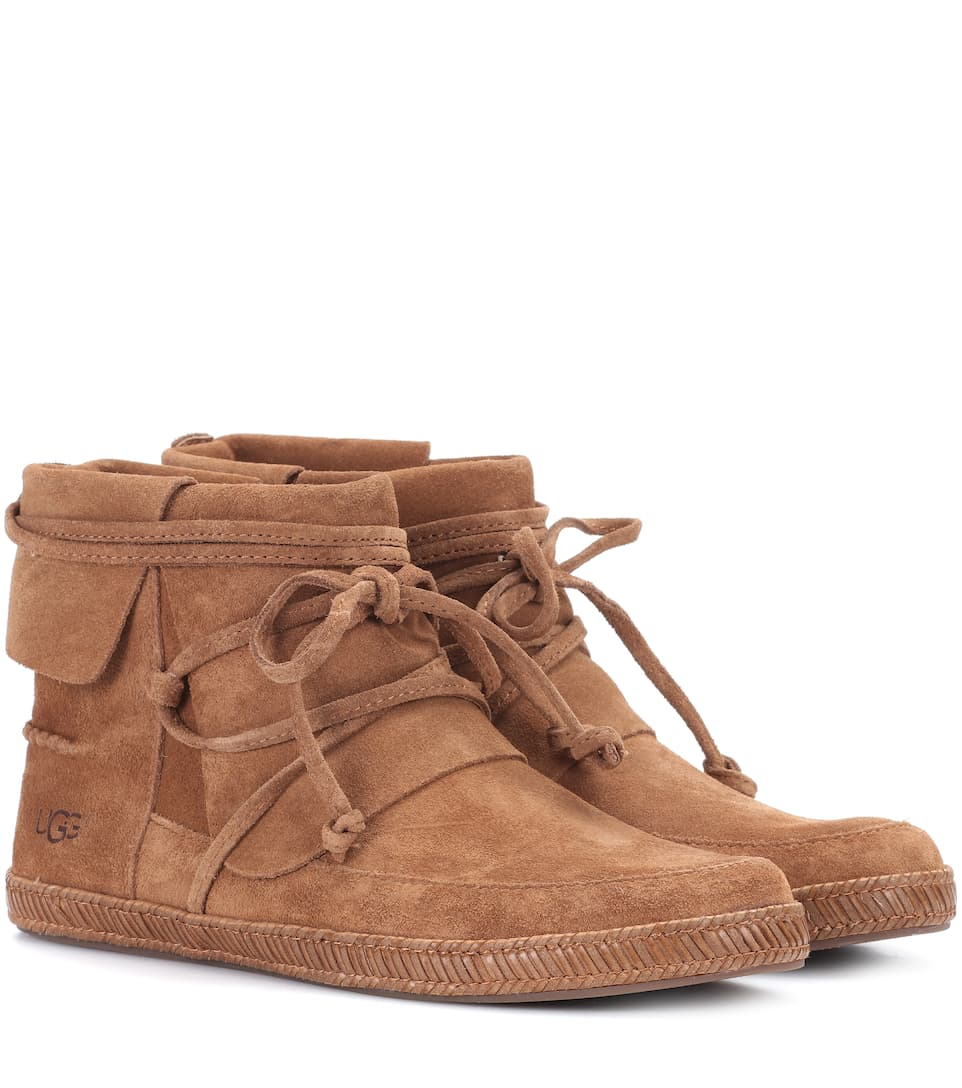 UGG REED BRUN REED SUEDE ANKLE BOOTS W BRUN | | cbd7a22 - deltaportal.info