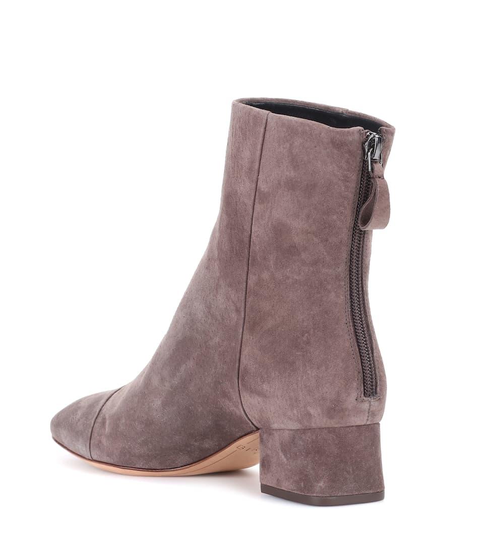 ALEXANDRE BIRMAN Jess soft suede ankle boots 98Qi4