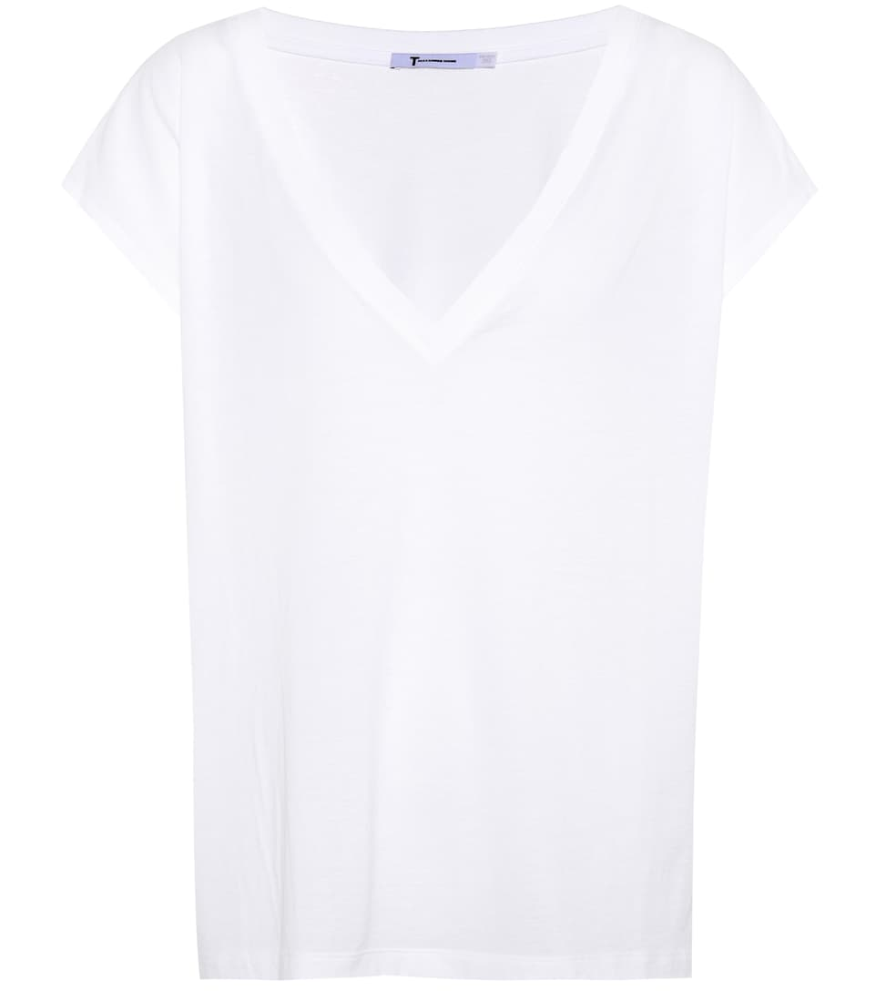 T By Alexander Wang T-shirt Made Of Cotton