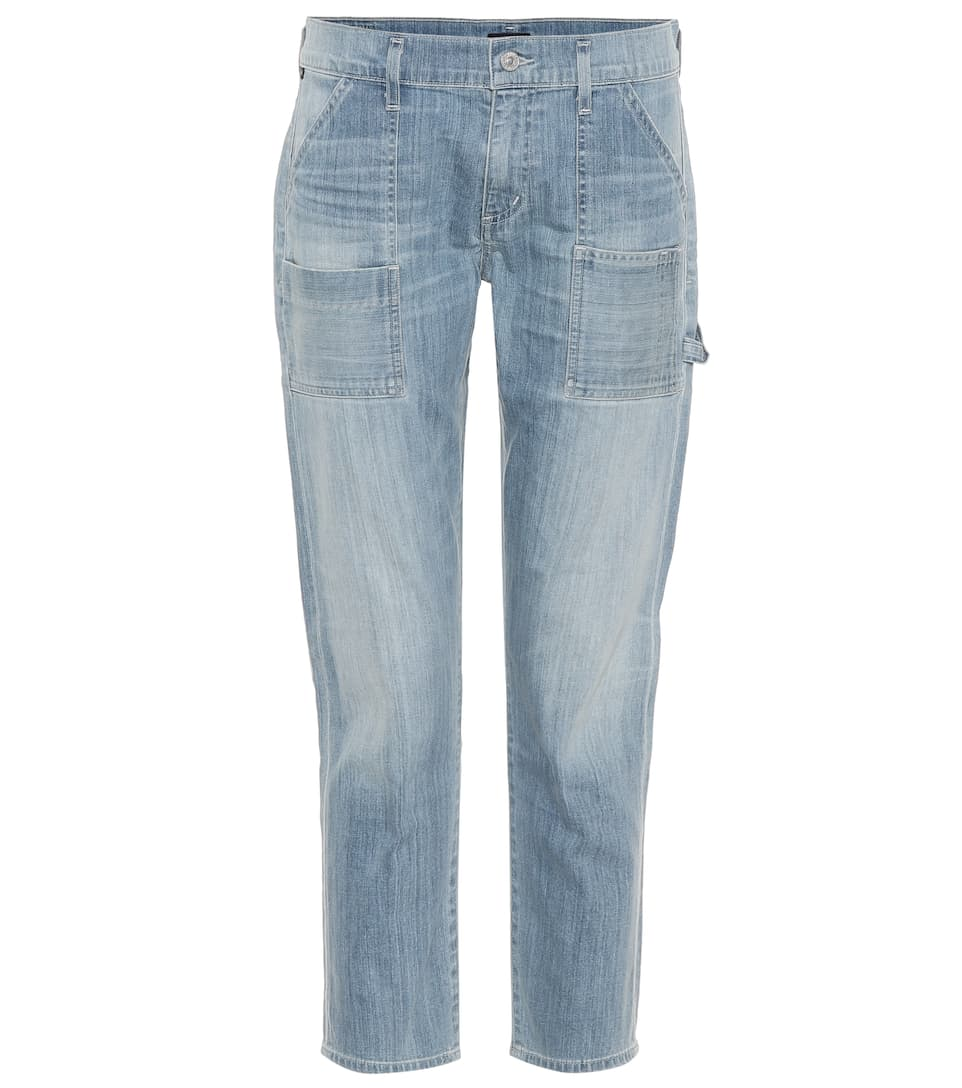 Citizens of Humanity High-Rise Jeans Leah
