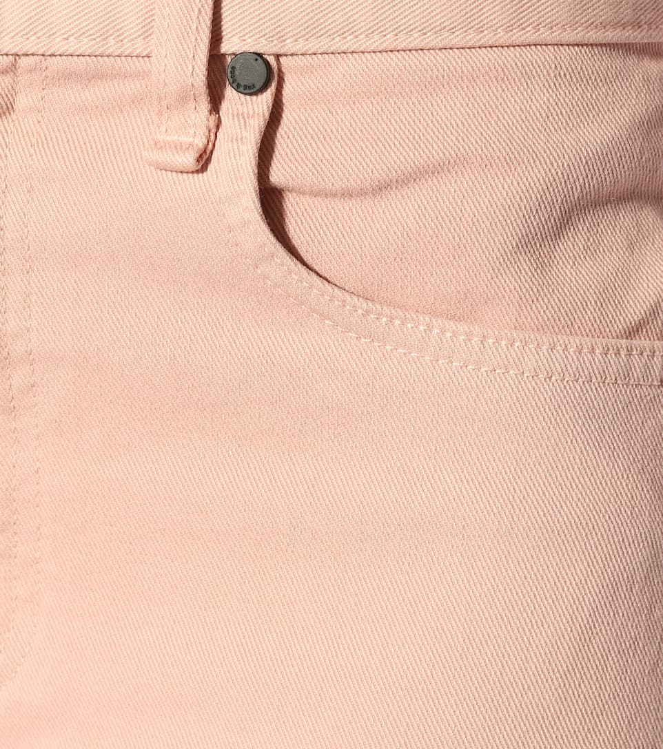 Rag & Bone Jeans Justine mit weitem Bein