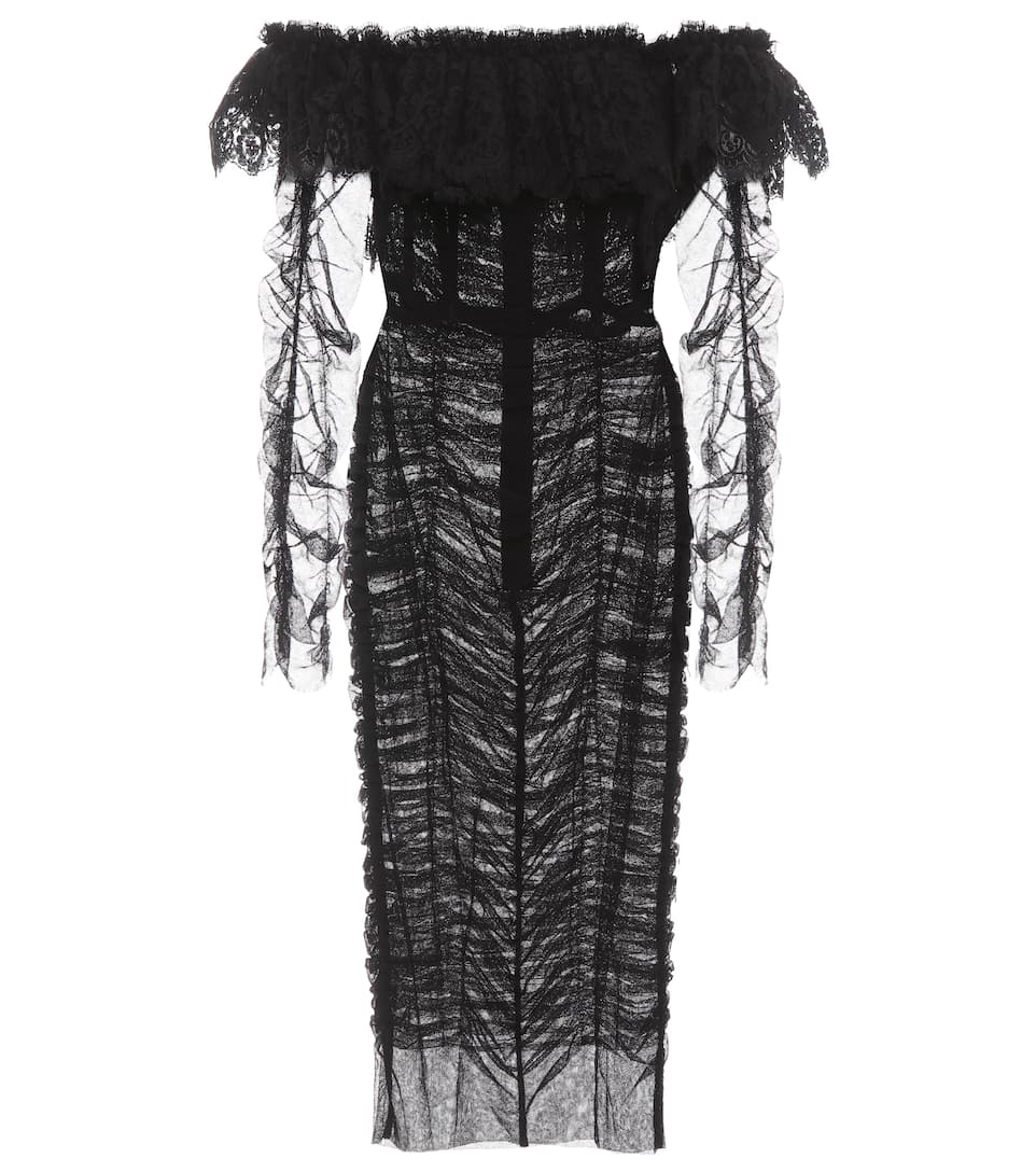 Tulle Dress by Dolce & Gabbana