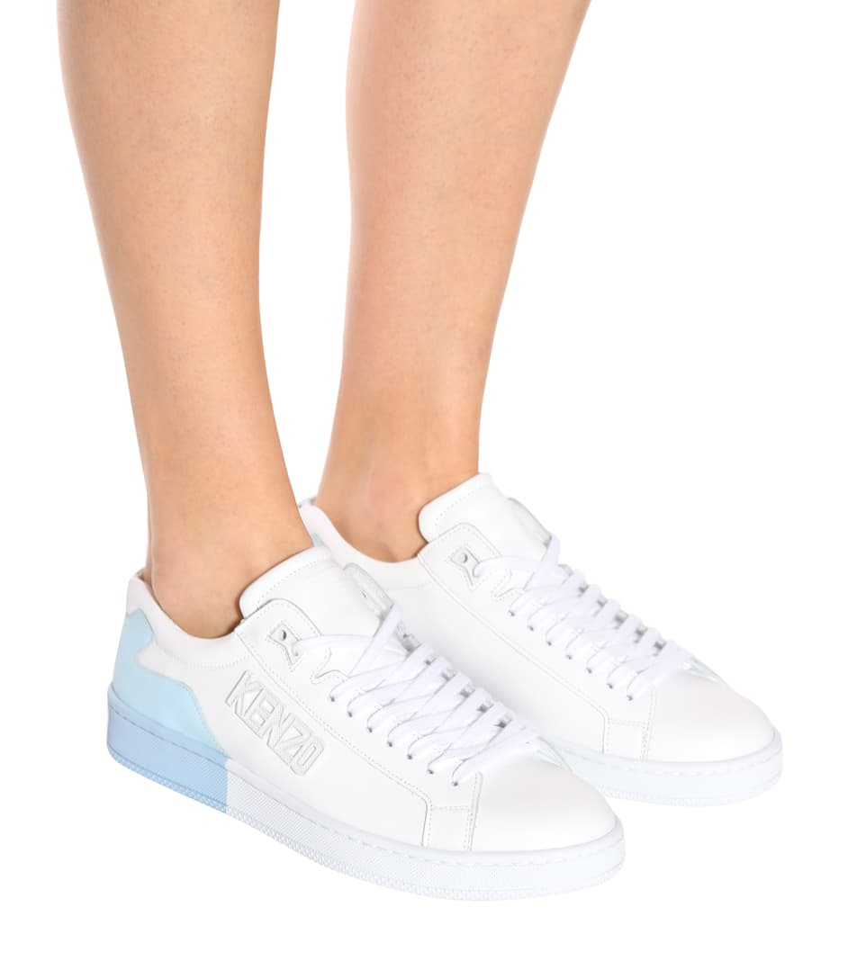 Kenzo Sneakers aus Leder