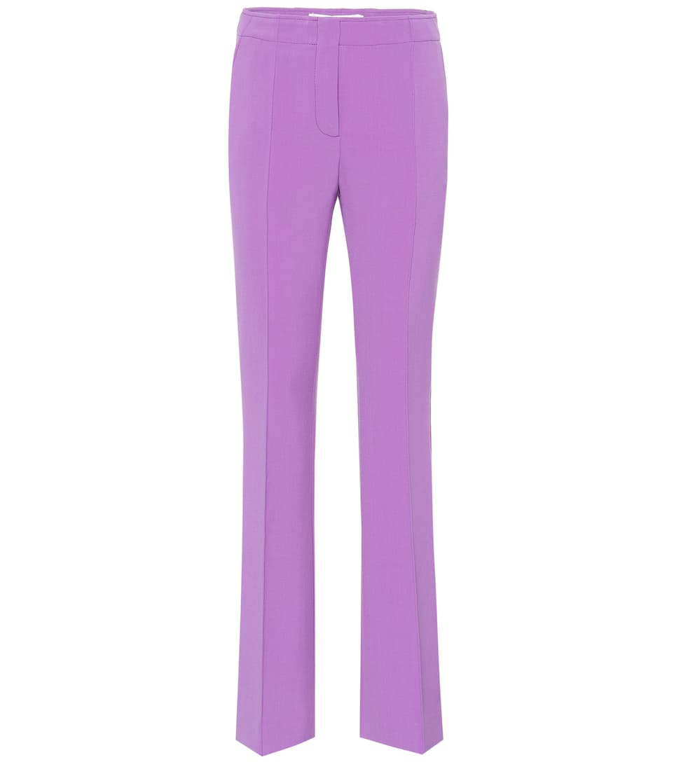 Wool Blend Flared Pant by Victoria Victoria Beckham