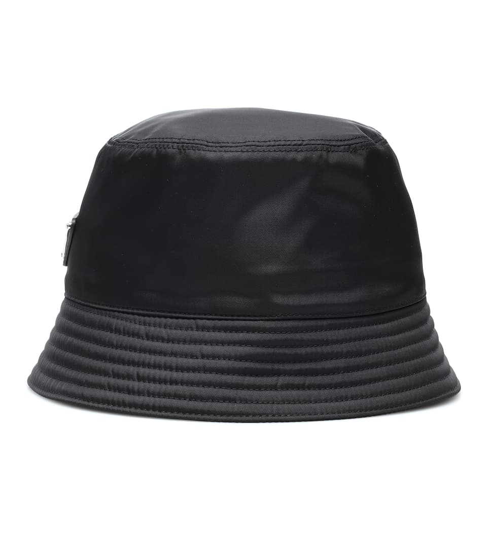899efd67238db Logo-Embellished Bucket Hat - Prada