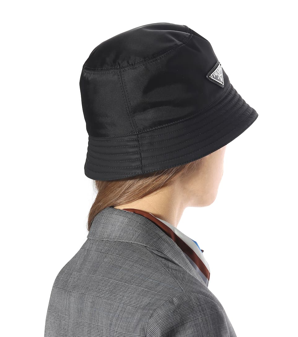 43b72644042 Logo-embellished bucket hat. NEW ARRIVAL. Prada