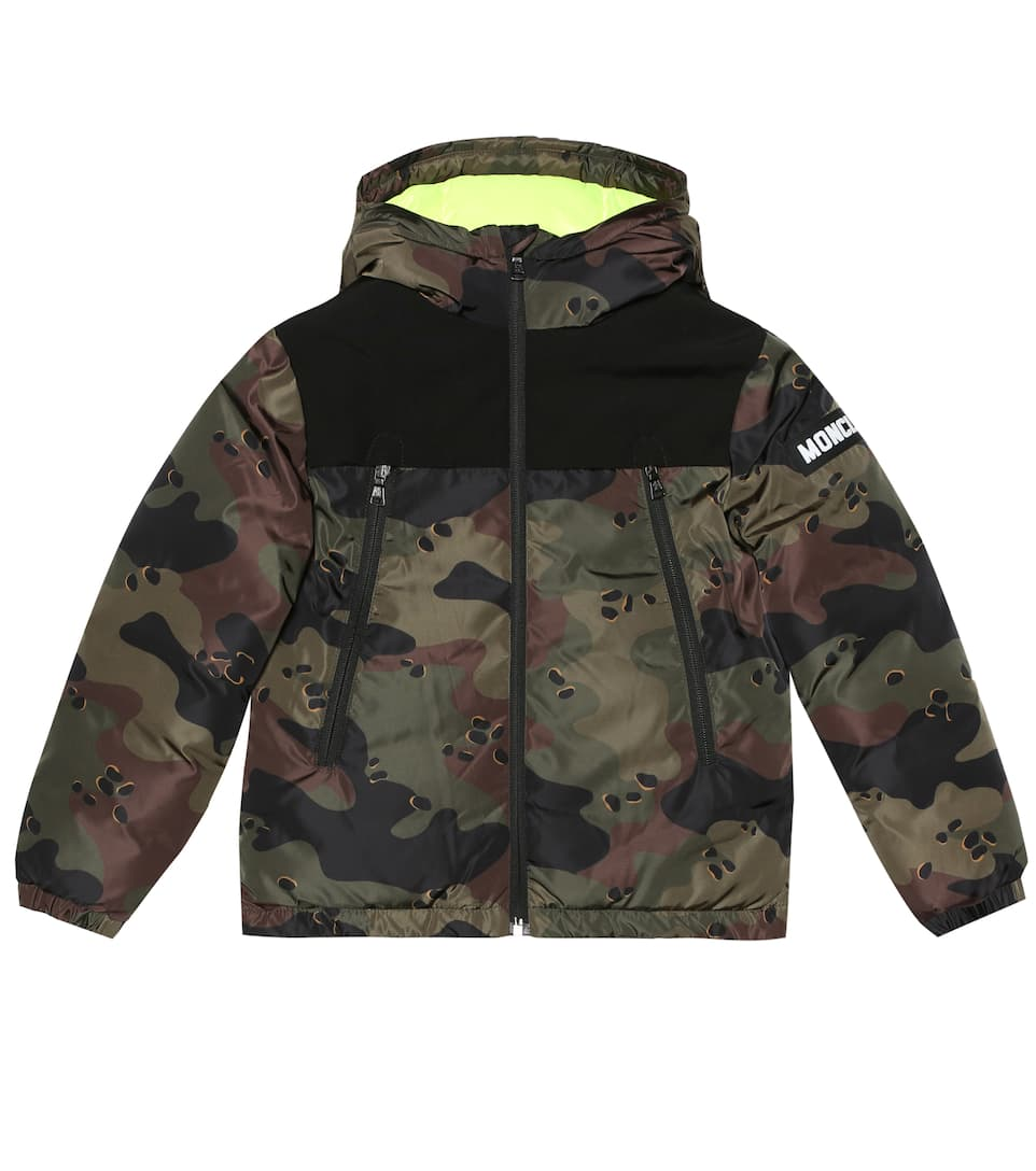 Pareloup camouflage down jacket