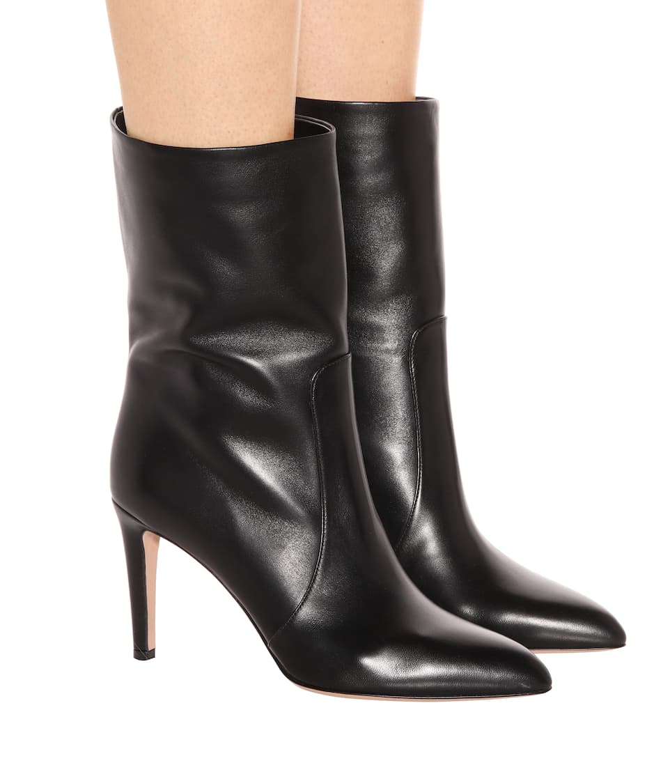 Gianvito Rossi Exclusively At Mytheresa.com - Ankle Boots Made Of Leather Dana