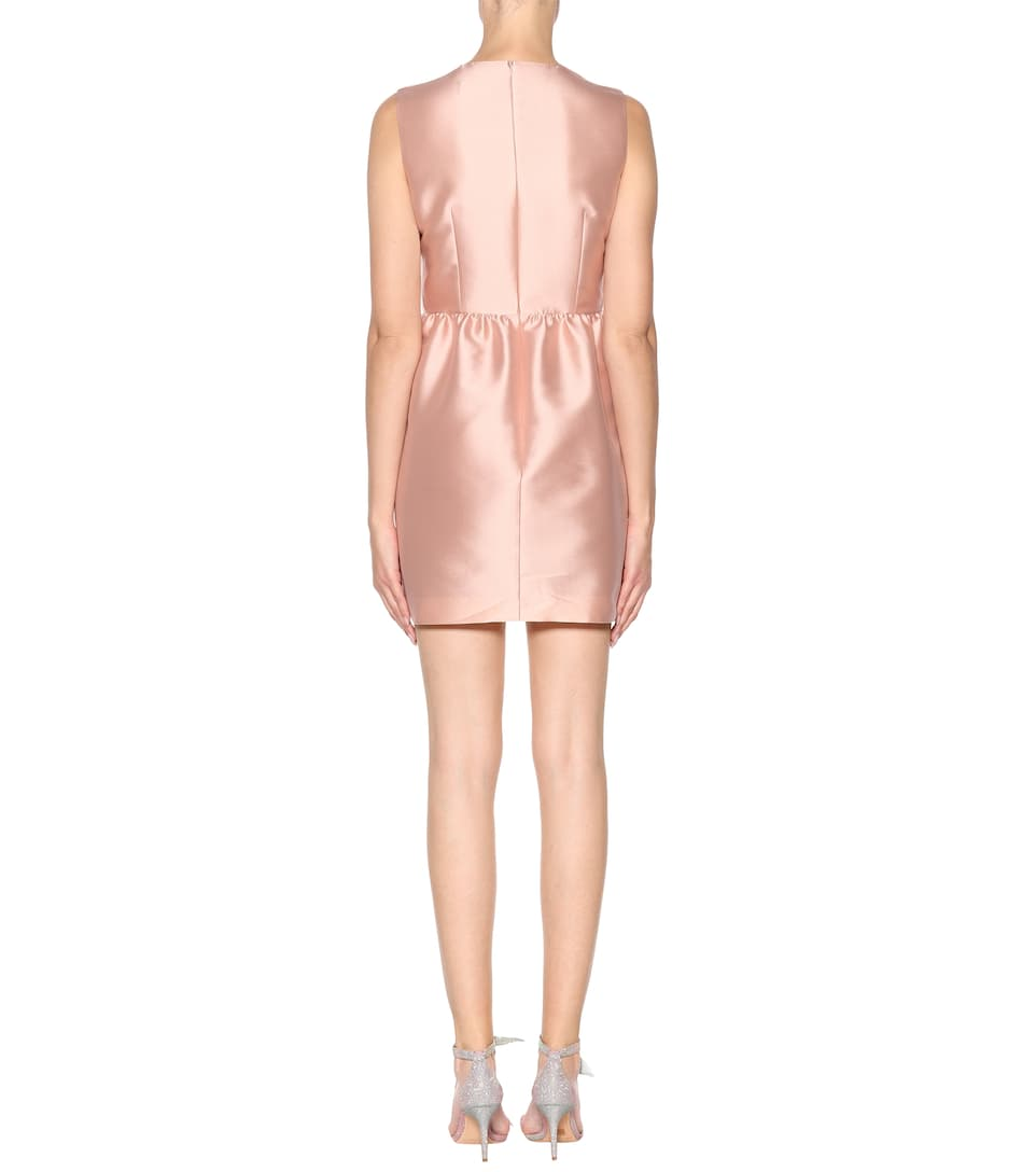 Redvalentino Mini Dress With Satin Share