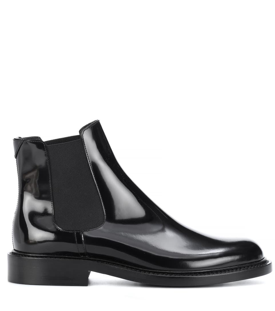 Saint Laurent Chelsea Boots aus Lackleder Niedriger Preis Günstig Online GfKiQ