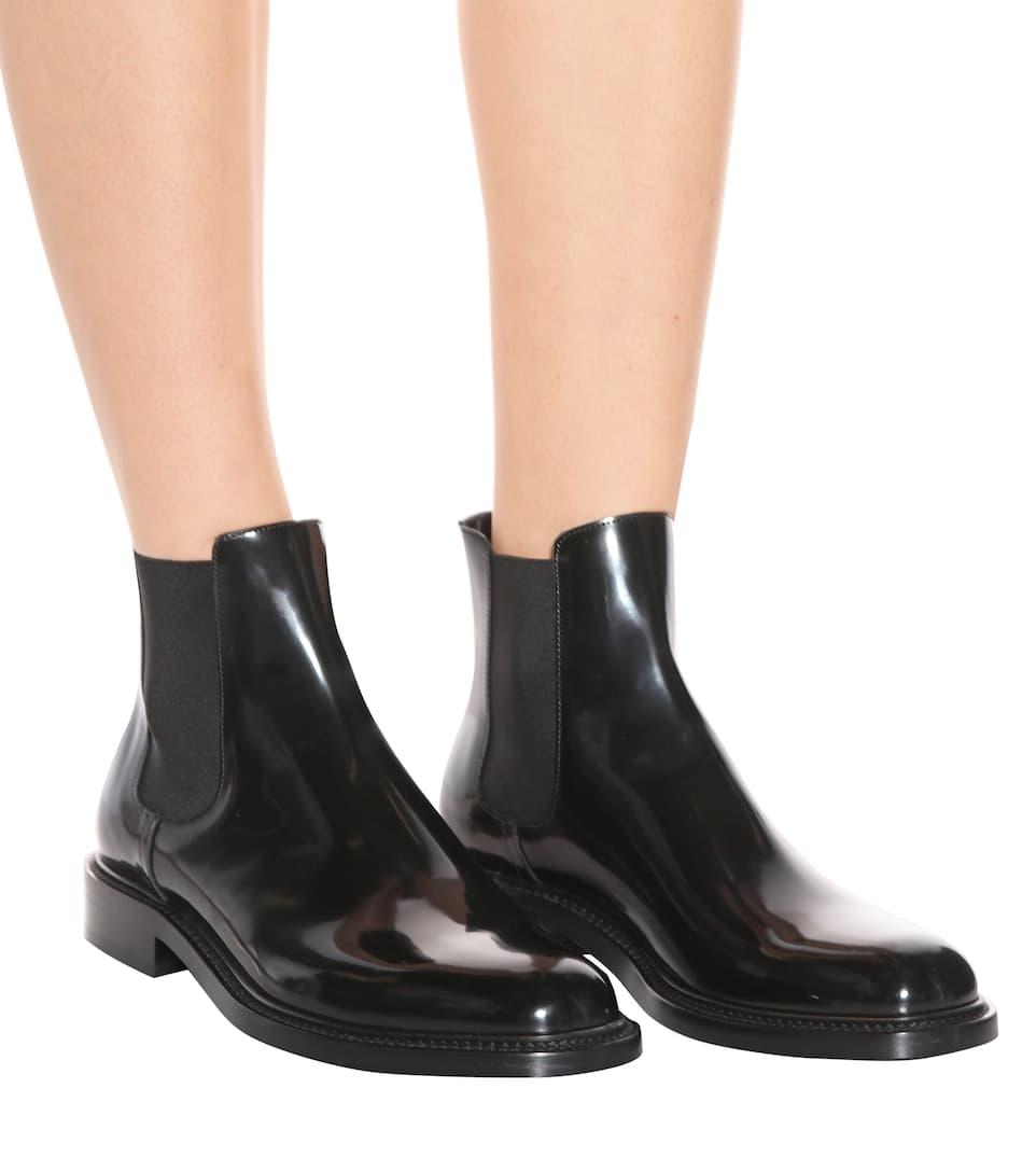 Saint Laurent Chelsea Boots aus Lackleder Sehr Günstig Online Versorgung Verkauf Online Rabatte NCdx6iRT3E