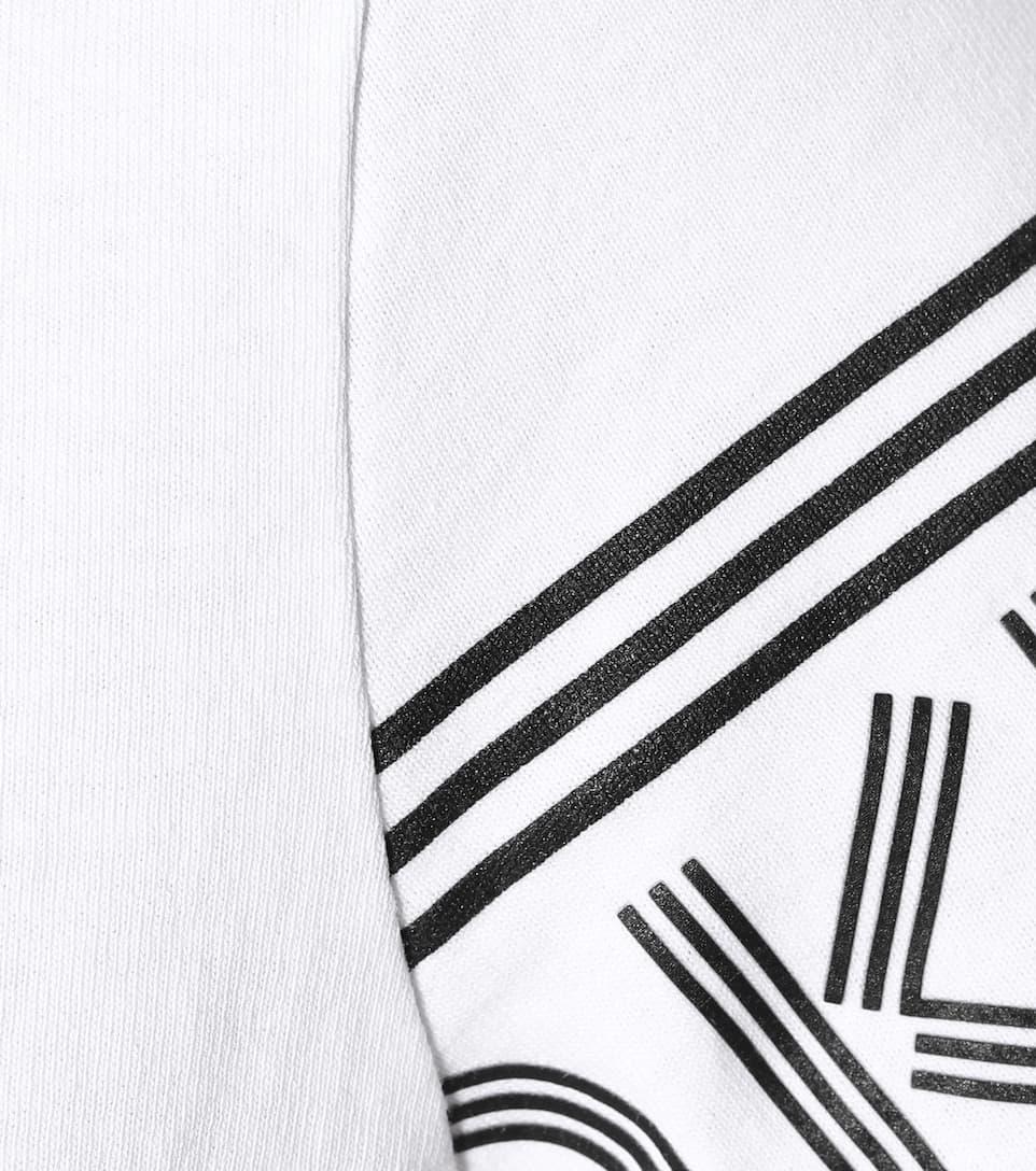 camiseta blanca Kenzo de estampada algodón T7xwTaSq