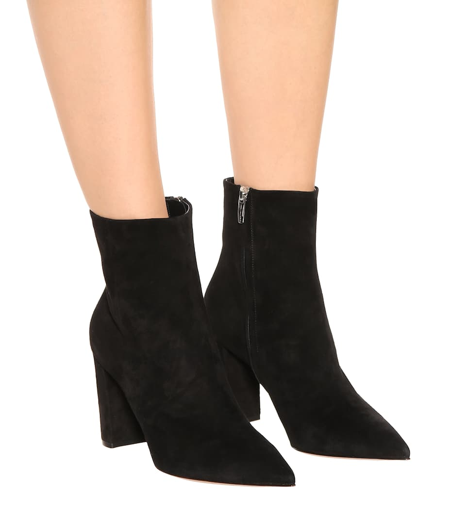 Exclusivité mytheresa.com - Bottines en daim Piper 85Gianvito Rossi sL0Lqqc8BE