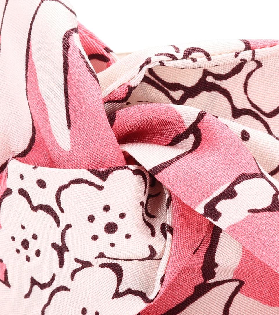 Garavani floral-printed silk headband Valentino IpryR
