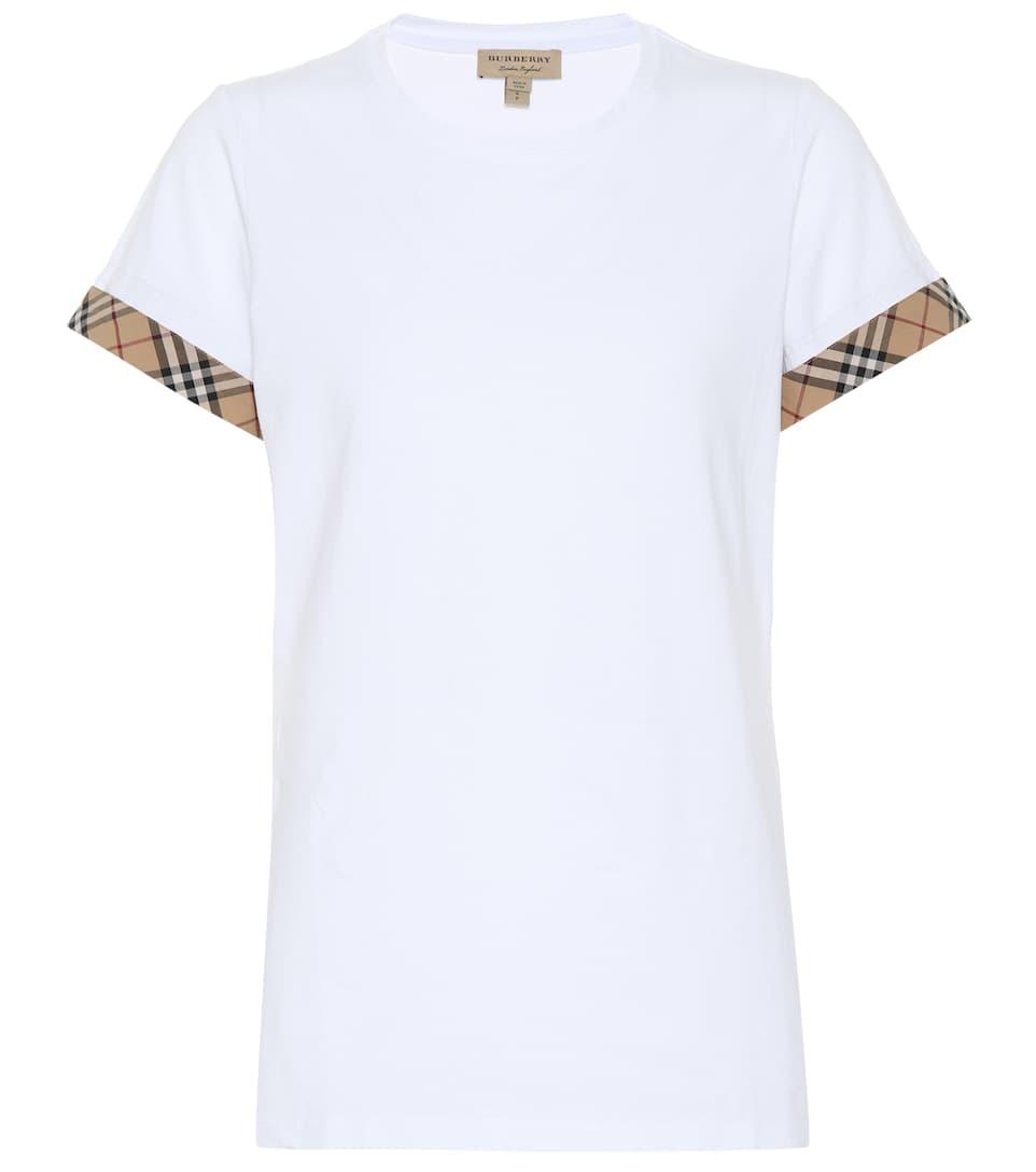 Kabini Cotton T Shirt by Burberry