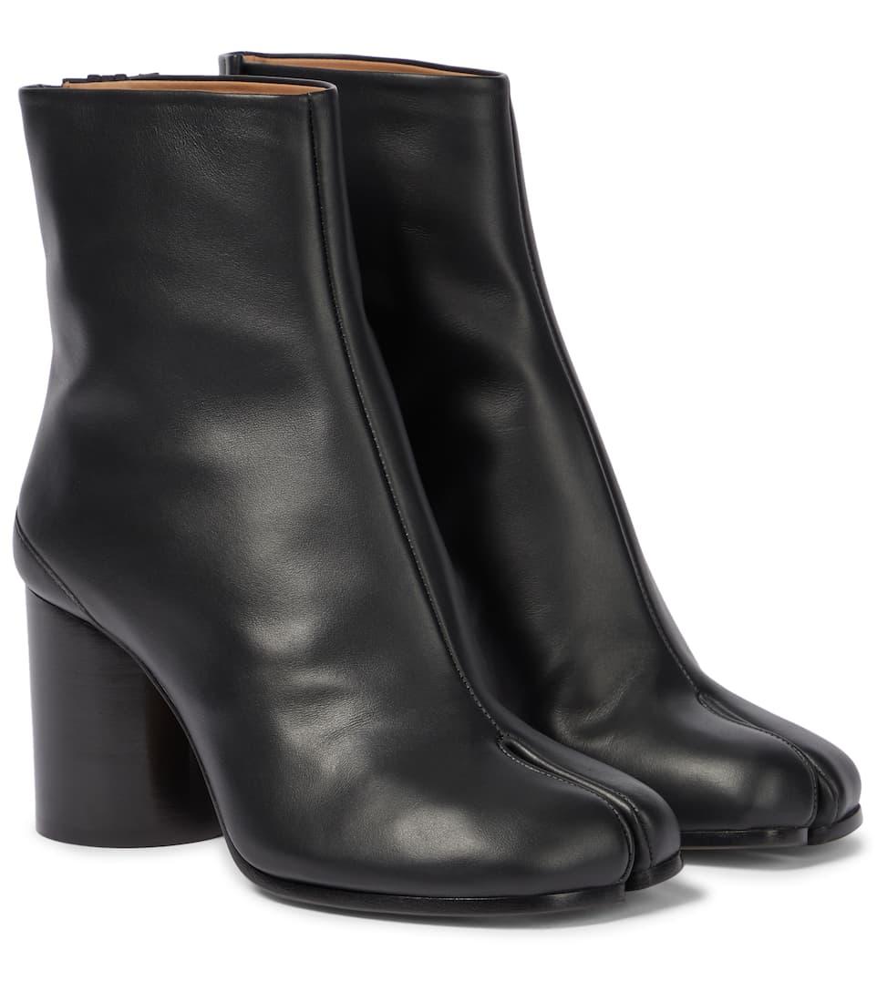 9e6c21a662202 Tabi Leather Ankle Boots - Maison Margiela