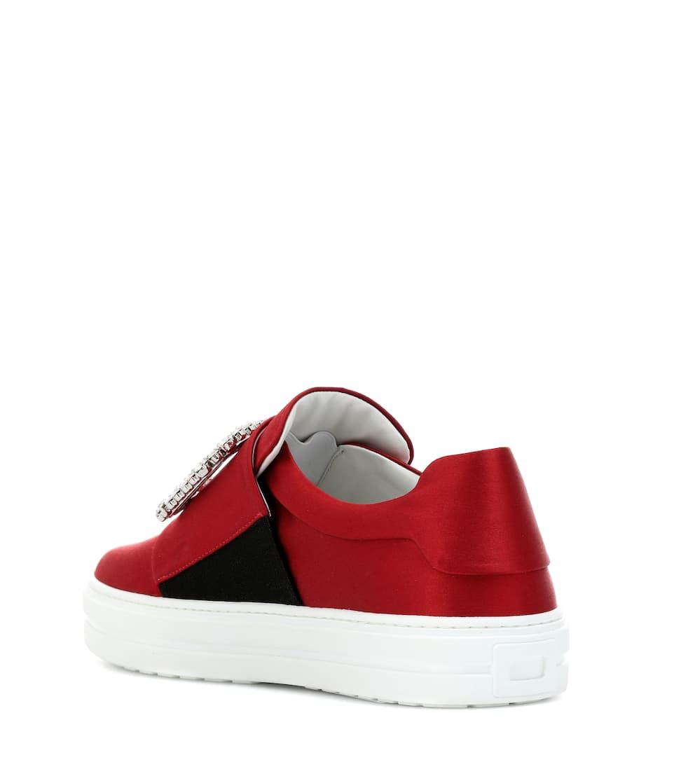 Viv' Sneaky Aus Roger Satin VivierSneakers Art nrnbsp;p00339651 43Aj5RLq