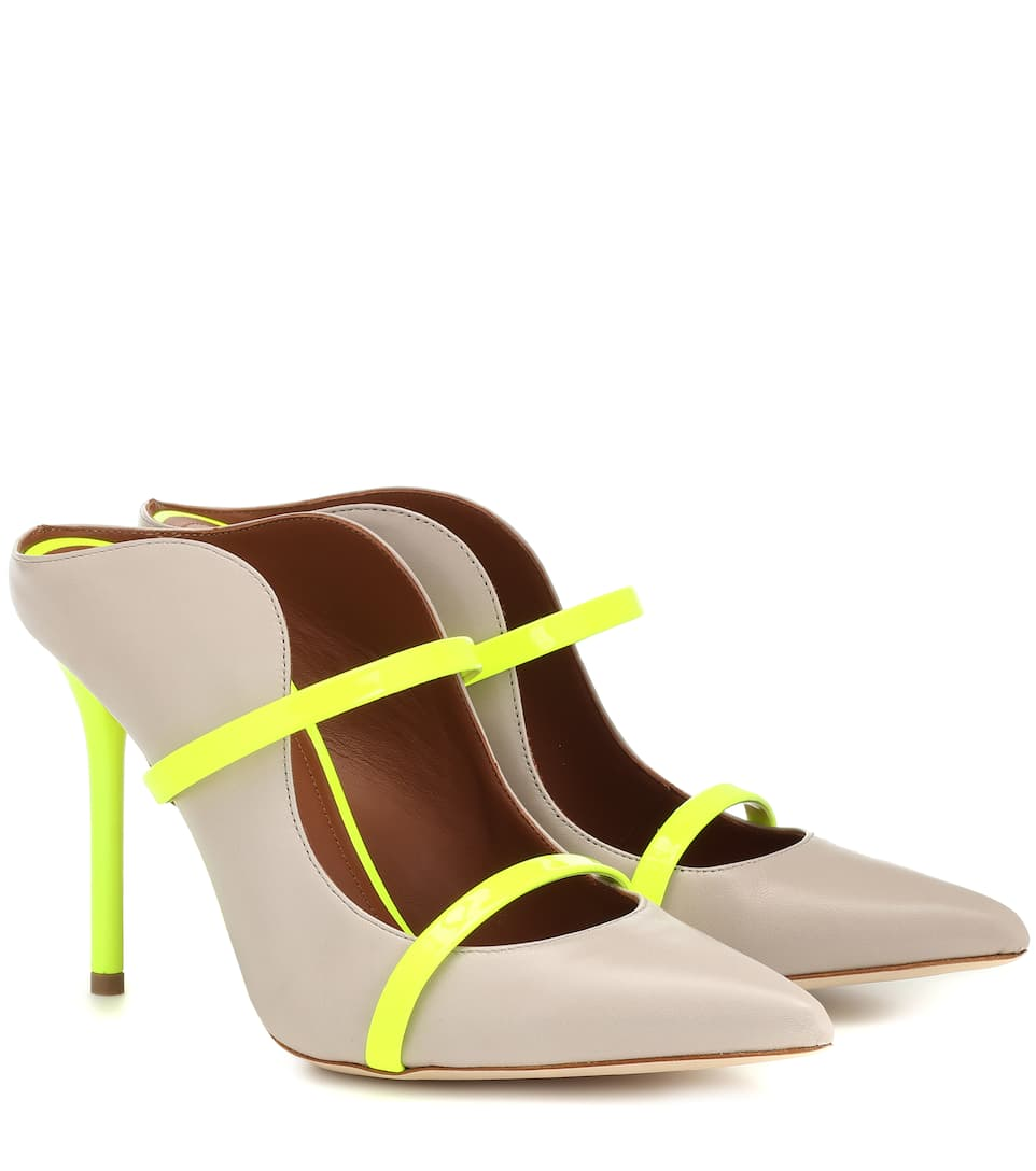 Malone Souliers Mules MAUREEN 100 LEATHER MULES