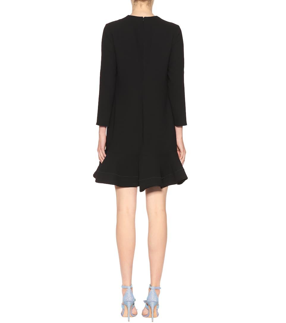 Victoria Victoria Beckham Langärmliges Minikleid Rabatte THqFRT