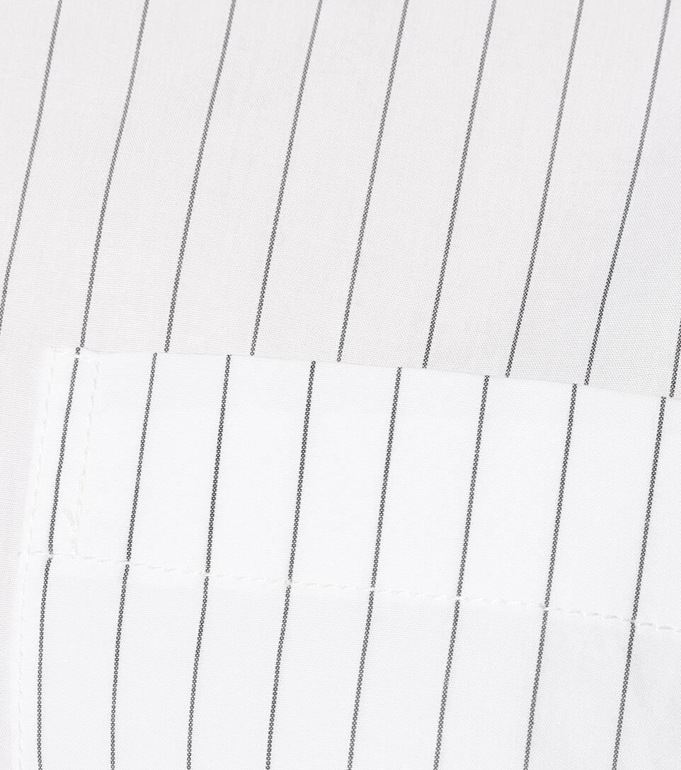 Helmut Lang Hemdblusenkleid Pulled Up aus Baumwolle