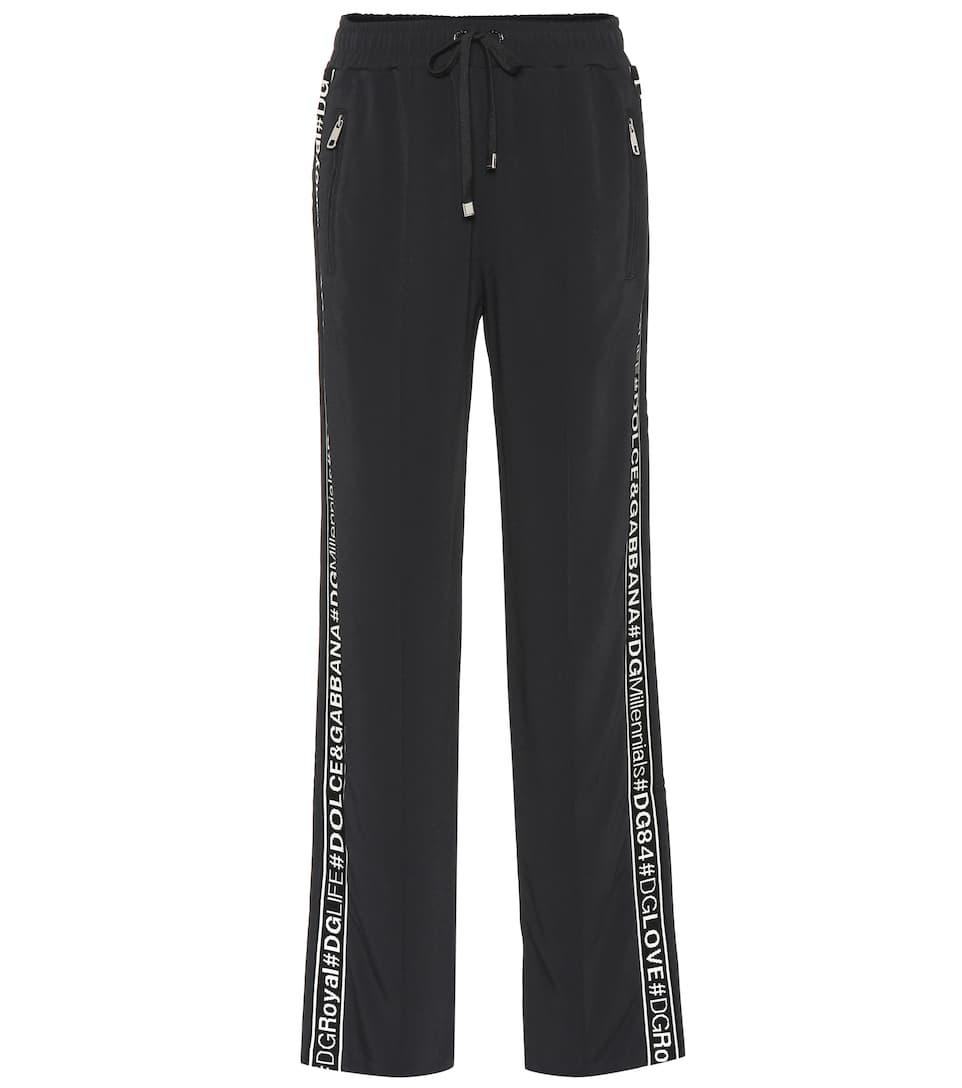 0995c79a8dac97 Dolce   Gabbana - Cady track pants   Mytheresa