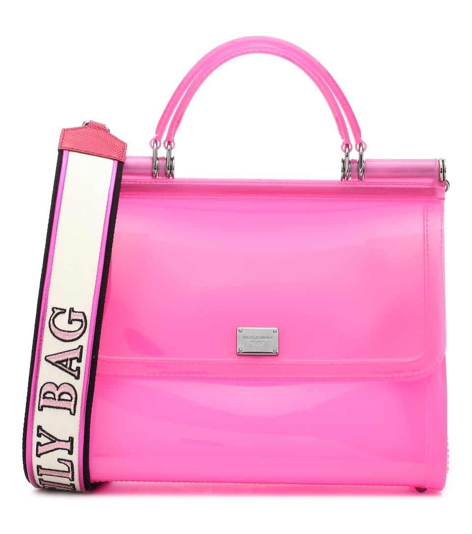 Transparent Sicily Shoulder Bag | Dolce & Gabbana -