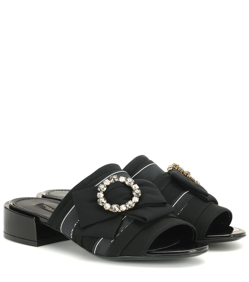 68768b04d Dolce & Gabbana - Crystal-embellished sandals | Mytheresa